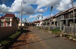 Programmi di costruzione di alloggi della costruzione Fotografia Stock