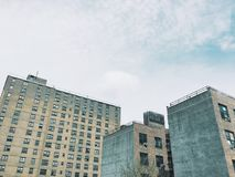 Programmi di costruzione di alloggi della riduzione di attività Fotografia Stock