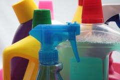 Programmi di utilità di pulizia Fotografia Stock