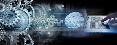 Programmierer-Computer Technology Business-Innovation stockfoto