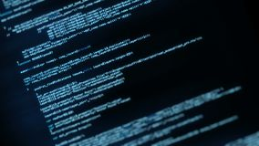 Programmierung, Anwendungsschnittstelle kodierend stock video