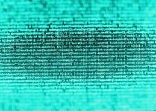 Programmierungskodierungsquellcodeschirm Lizenzfreie Stockfotografie