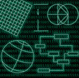 Programming. Abstract background representing a software Programming Stock Photo