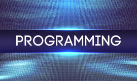 Programming code abstract technology background.Web Developer .Abstract Computer Script.Program Code. Vector. Illustration Stock Images
