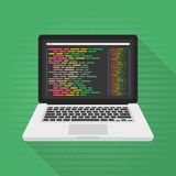 Programming and coding concept. Stock Image