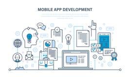 Programming, coding online,web courses, design, mobile and desktop app development. Programming and coding online,web courses, internet and web design, mobile vector illustration
