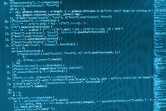 Programming coding source code screen.