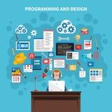 Programming Concept Illustration Stock Photos