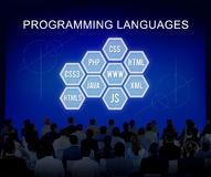 Programming Language Coding Developer Software Concept. Programming Language Coding Developer Concept stock photography