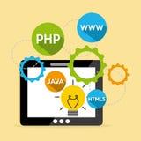 Programming language Stock Photography