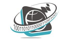 Programować kodu internet Fotografia Stock