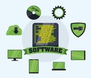 Programvarudesign Arkivbild