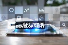 Programvaruutveckling Applikationer APPS för affär programmering fotografering för bildbyråer