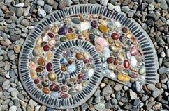 Progresión toxicológica del remolino de las rocas de Coroful imagen de archivo