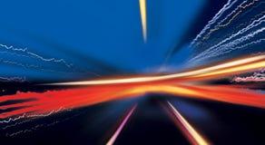 Progreso abstracto de la energía Fotos de archivo