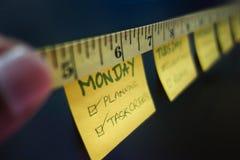 Progreso de medición Foto de archivo