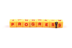 Progress Royalty Free Stock Image