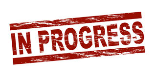 In progress Royalty Free Stock Photos