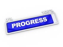 Progress bar Stock Photo