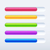 Progress bar. Colorful progress bar. Vector illustration for your site stock illustration