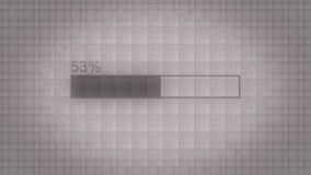 Progress bar. Illustration of uploading, downloading, transferring process. Modern loading bar animation on dark. Polygonal geometric surface. Loading Process vector illustration