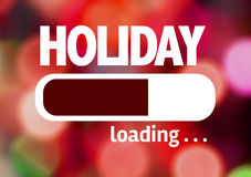 Progress Bar Loading with the text: Holiday Stock Images