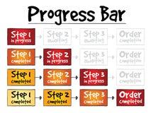 Progress Bar process Royalty Free Stock Photography