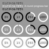 Progress bars Royalty Free Stock Photos