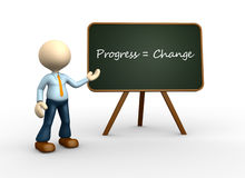 Progress and change Royalty Free Stock Images