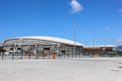 Progress of construction of the Rio 2016 Olympic Park Stock Photos
