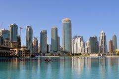 Construction Work in Dubai. Progress of Construction Work in Dubai Stock Photography