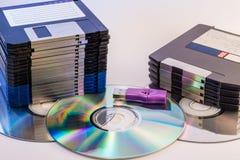 Progress of data storage Royalty Free Stock Photo