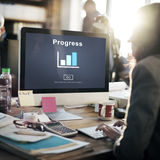 Progress Development Improvement Advancement Concept Stock Image