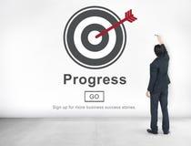Progress Development Imrpovement Advancement Concept Royalty Free Stock Photography