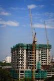 progress för byggnadskonstruktion Royaltyfri Foto