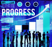 Progress Improvement Development Success Growth Concept Stock Photos