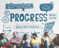 Progress Improvement Growth Progressive Development Concept Stock Photo