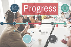 Progress Improvement Investment Mission Development Concept Royalty Free Stock Image