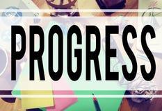 Progress Innovation Vision Improvement Innovation Concept Royalty Free Stock Photo