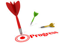 Progress Royalty Free Stock Photography