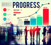 Progress Strategy Success Motivate Development Growth Concept Stock Photography