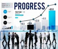 Progress Strategy Success Motivate Development Growth Concept Stock Images