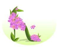 Progression au printemps Illustration de Vecteur