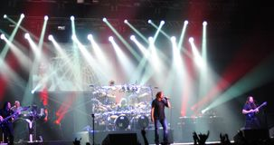 Progressive rock band - Dream Theater Royalty Free Stock Photography