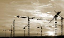 Progresso - cantiere Immagine Stock Libera da Diritti