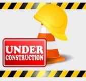 Progresso in costruzione Fotografia Stock
