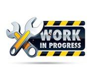 progressteckenarbete Fotografering för Bildbyråer