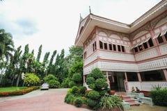 Prohíba la casa histórica de Wongburi en Phrae, Tailandia imagen de archivo libre de regalías