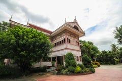 Prohíba la casa histórica de Wongburi en Phrae, Tailandia foto de archivo libre de regalías