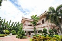 Prohíba la casa histórica de Wongburi en Phrae, Tailandia fotografía de archivo libre de regalías